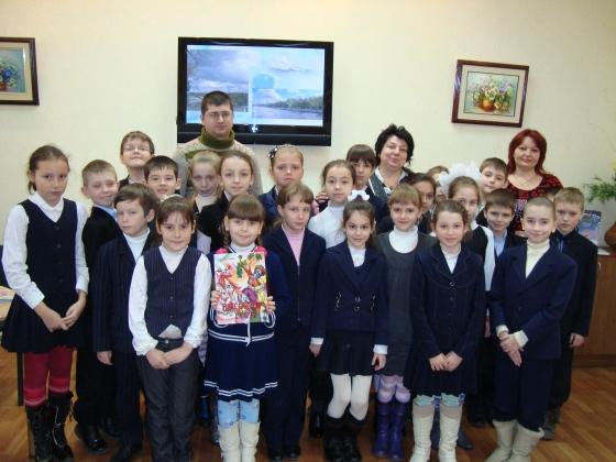 Гости проекта «Известные горожане читают детям»: Инна Гаврилова и Рустам Сафин